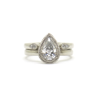 A Love As Big As Mountains, 2017, 18kt white gold and diamonds