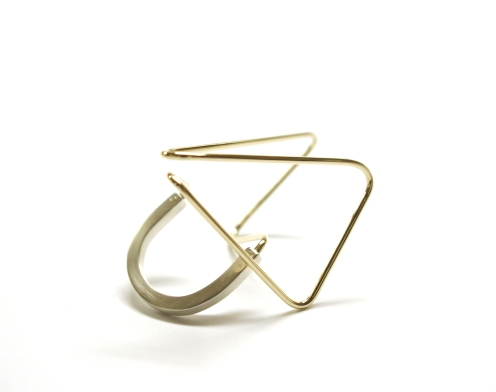 Alaska, 2010, 9ct yellow gold, 925 silver