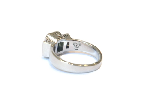 Carpe Diem, 2013, 18ct white gold, diamonds, party sapphire