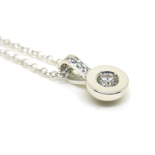 Annie Is Seriously Loved, 2015, 925 silver, diamonds