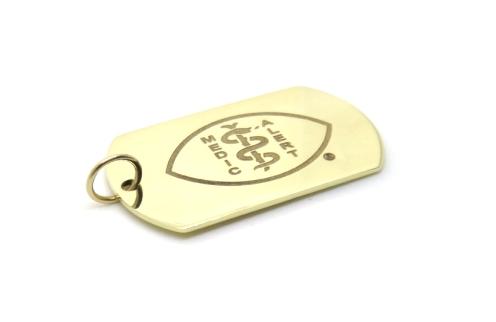 Custom Life Saver, 2016, 9kt yellow gold