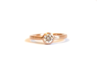 Many Firsts, 2014, 18kt rose gold, diamond
