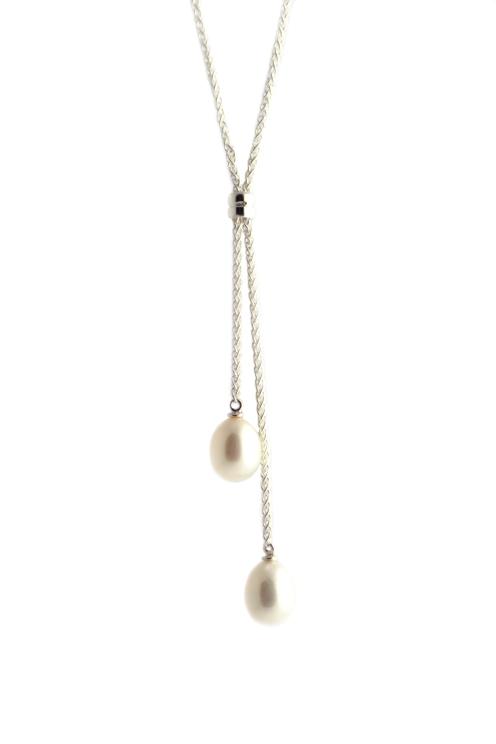 Nicolas Wedding Necklace, 2012, pearls, 925 silver