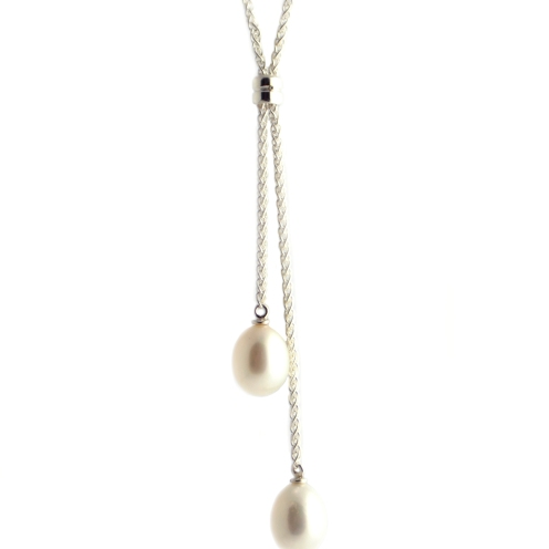 Nicolas Wedding Necklace, 2012, pearls, 925 silver
