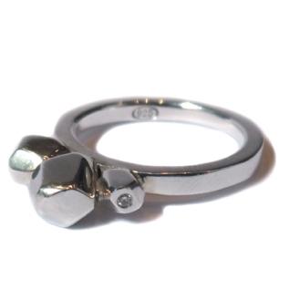 Kazoku, 2013, 925 silver, diamond