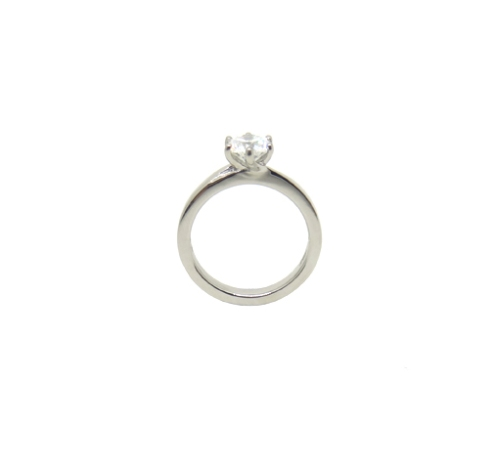 Super Like, 2017, 18 ct white gold, diamond