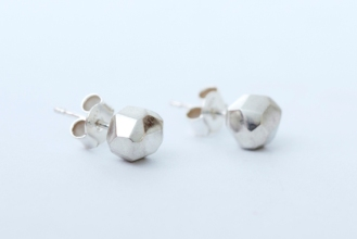 Rock Studs, 925 silver. Available to purchase $165.00 AU.