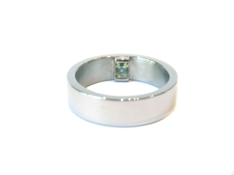 Just The Way You Are, 2013, Palladium, 18ct white gold, party sapphire
