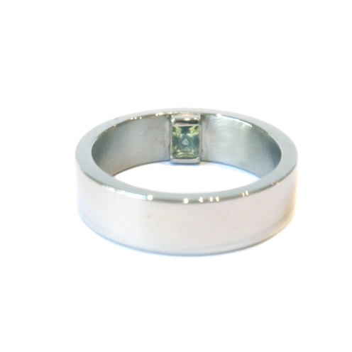 Just The Way You Are, 2013, Palladium, 18kt white gold, party sapphire