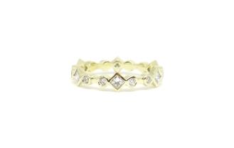 'Super Love', 2018, 14 ct yellow gold, diamonds