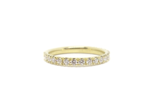 Gold and Glitter, 2018, 18kt yellow gold, diamonds