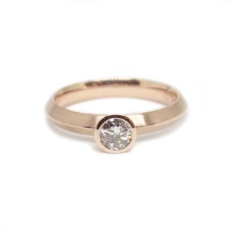 #lorkingsinlove, 14kt rose gold, heirloom diamond