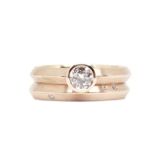 #lorkingsinlove, 14kt rose gold, heirloom diamonds