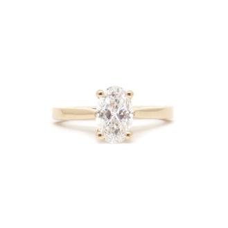 Mrs Lobbdog, 14kt rose gold, diamond